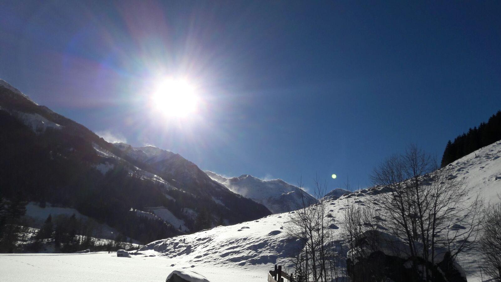 herrliche Winterlandschaft in der Alm