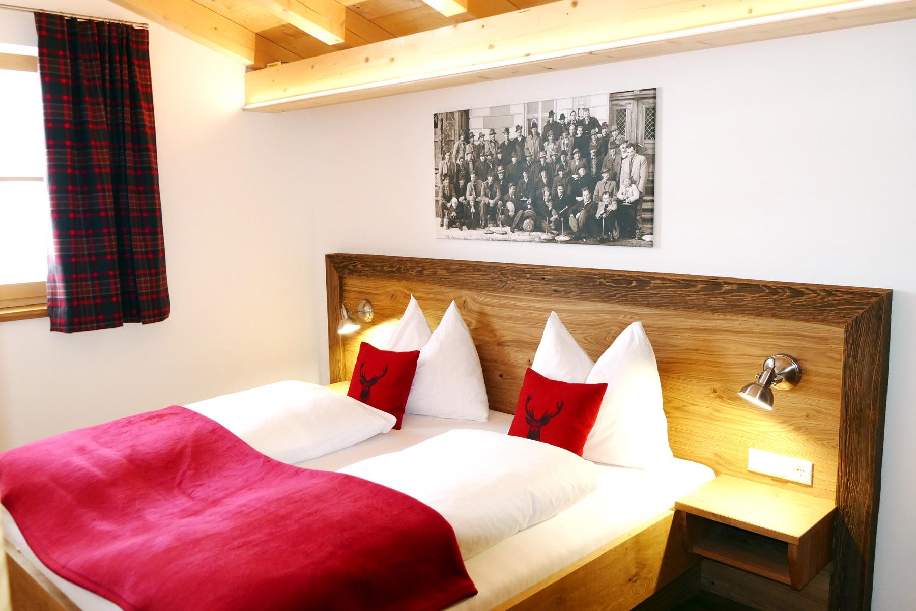 Schlafzimmer im Landhaus