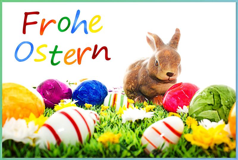 wir wünschen unseren lieben Gästen und Freunden Frohe Ostern