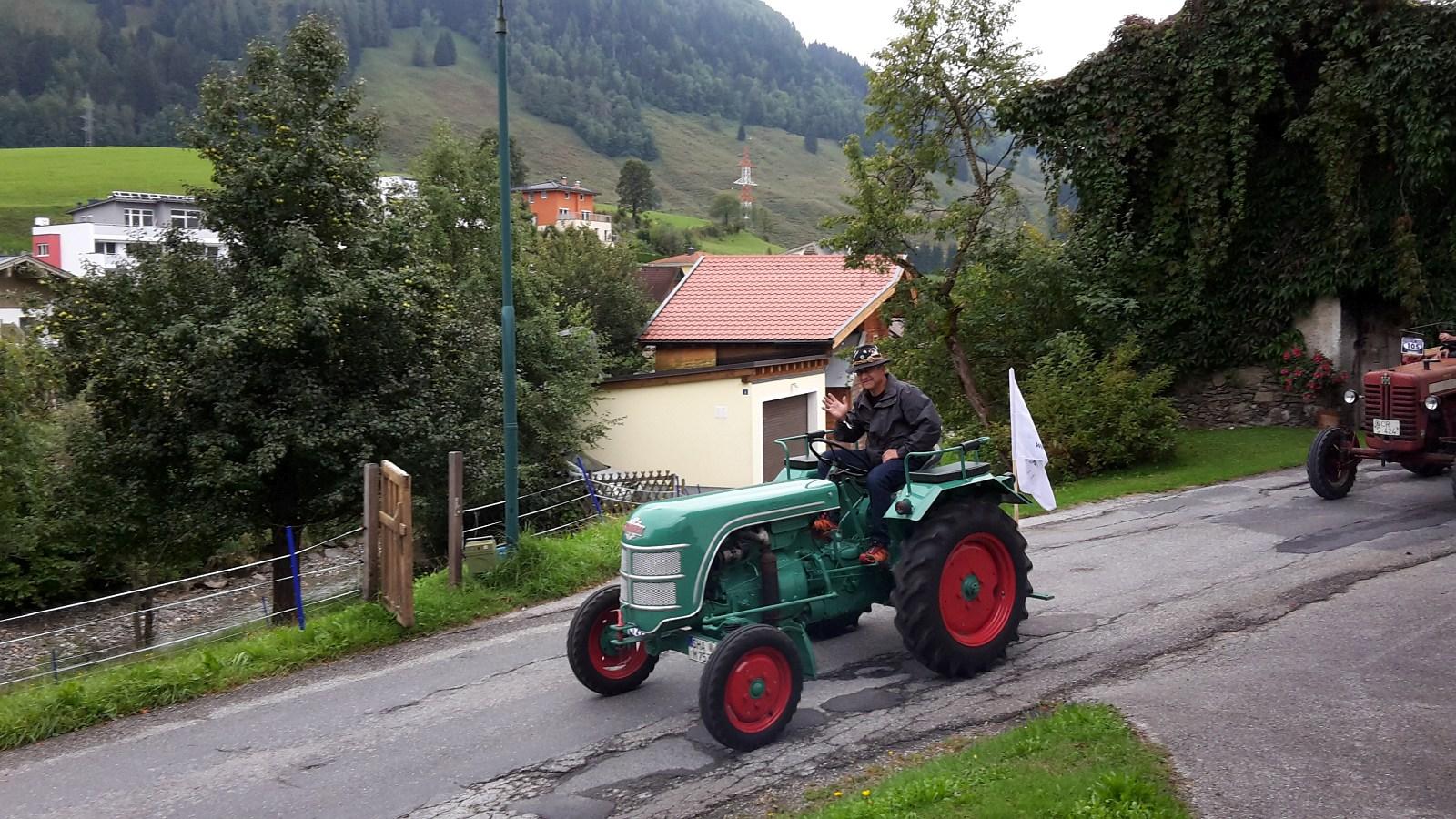 zum 10. Mal bei uns die Traktorfahrer
