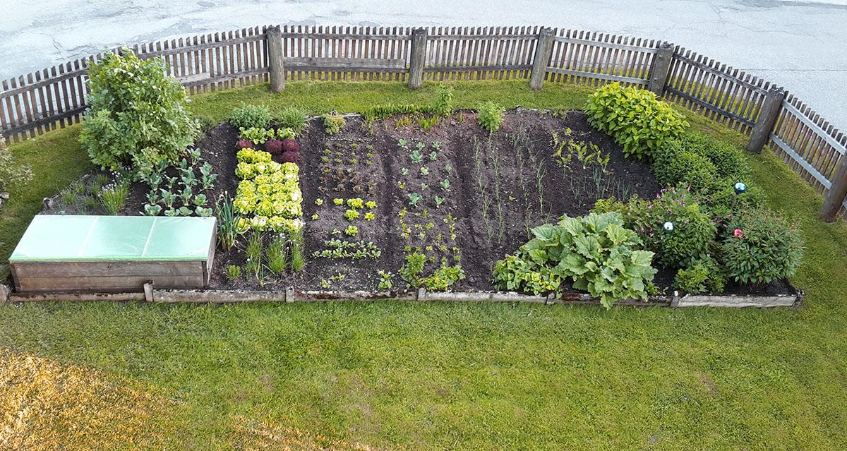 Der praktische Bauerngarten von Oma Traudi